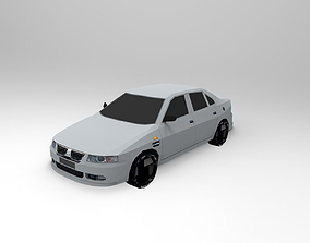 3D asset Daily Cars pack
