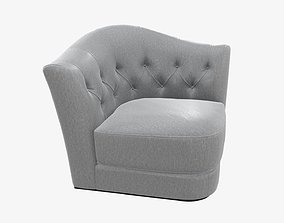 3D PBR Armchair 01