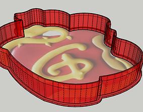 3D printable model Disney Apple Cookie Cutter Snow-white