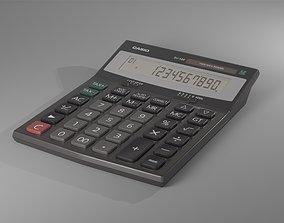 CASIO DJ-120 Calculator 3D model