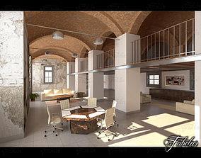 livingroom 3D model Split