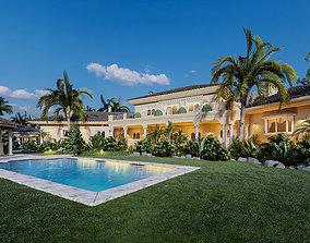 The Tropical House Exterior 01 3D