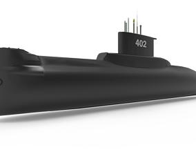 3D KRI NANGGALA type 209 1300 402
