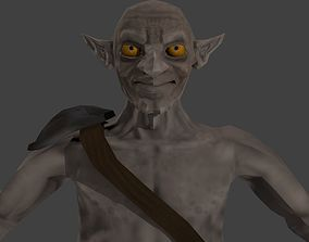Low poly Medieval Goblin 3D model