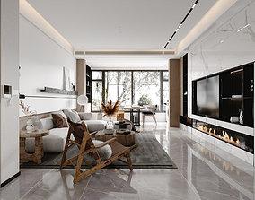 3D Interior Scene realistic