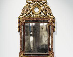 3D Louis XVI Mirror