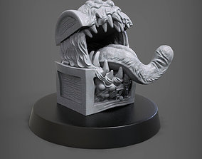 The mimic 3D print model
