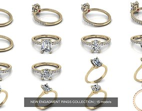 3D model NEW ENGAGMENT RINGS COLLECTION