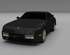 3D model Porsche 944 Turbo