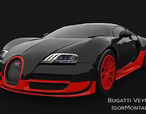 Bugatti Veyron Super Sport 3D asset