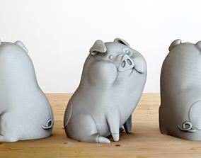 Waddles 3D print model
