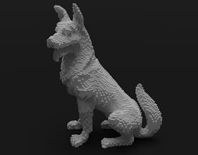 3D print model Voxel Dog