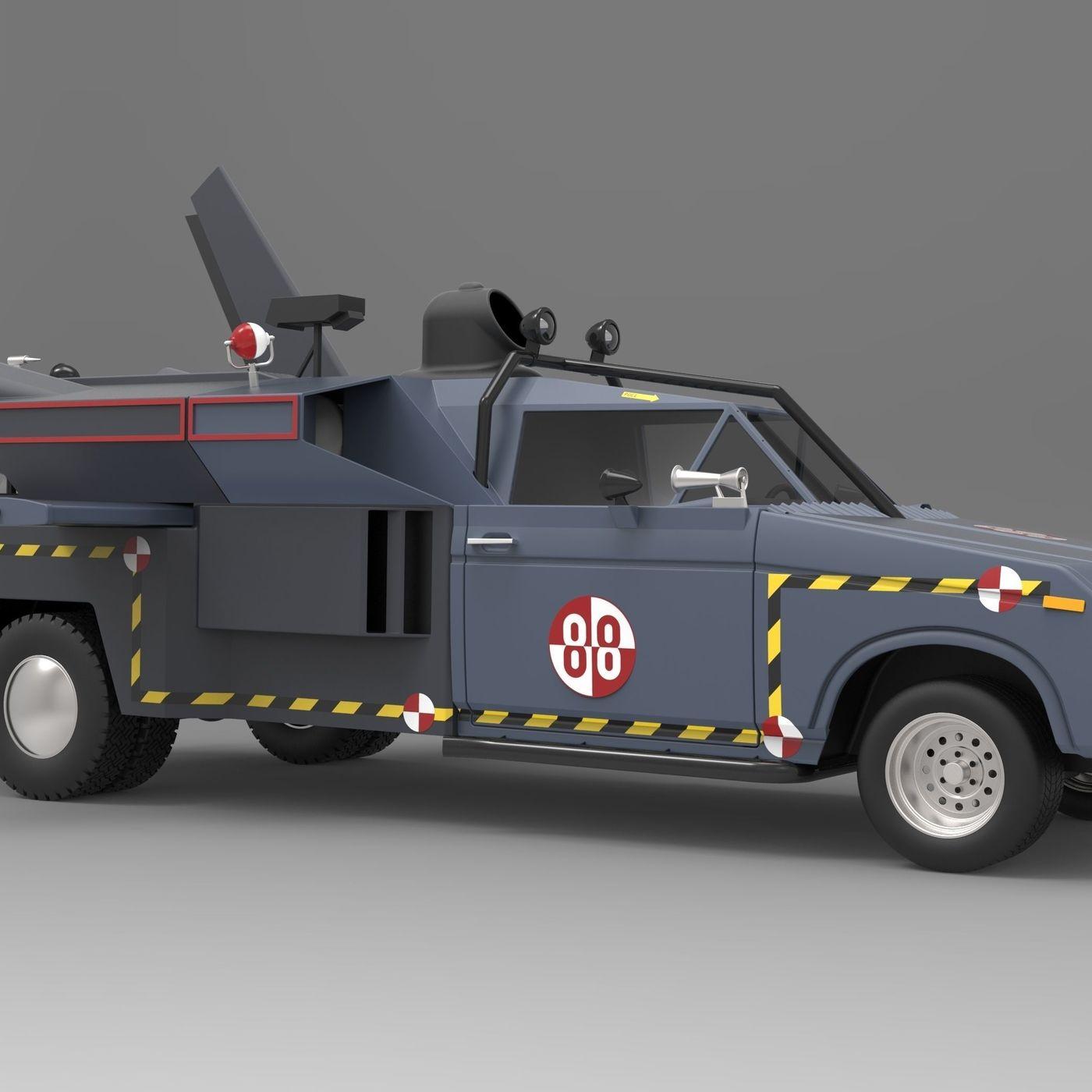 Buckaroo Bonzai Jet Truck