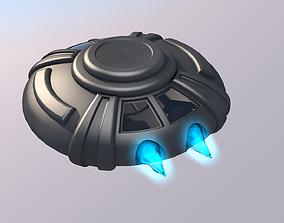 UFO Spaceship 3D asset