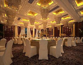 Business Restaurant - Coffee - Banquet 226 3D model
