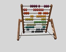 Children Toy Abacus 3D asset
