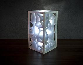 Voronoi lamp 3D printable model