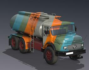 Mercedes L2624 Tanker truck 3D model