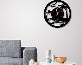 3D printable model Decorative Wall Clock C3