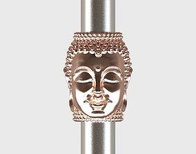3D print model Buddha BEAD BRACELET charm