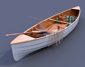 fishing boat 3D ship