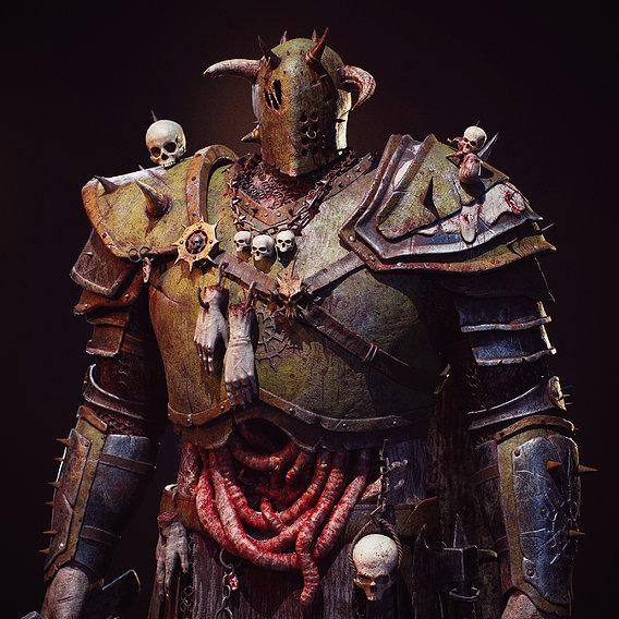 Death Guard Captain
