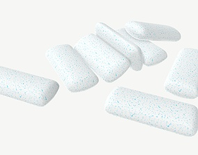 3D model Chewing gum 03