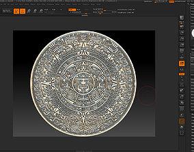 Aztec calendar-3d print old