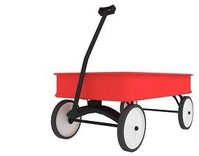 Wagon Toy 3D model