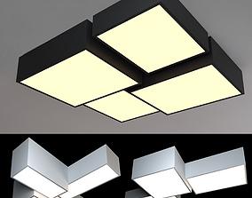 Ceiling lamps set 007 3D