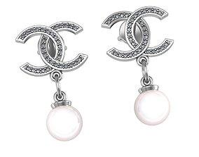 3D hairpin earrings