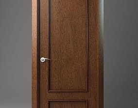 entrance 3D model Wooden Door