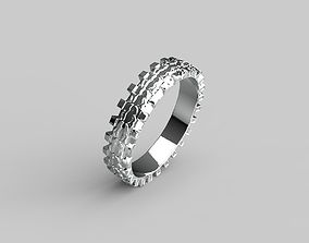 wheel ring 3D printable model
