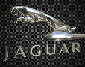 3D jaguar hood ornament