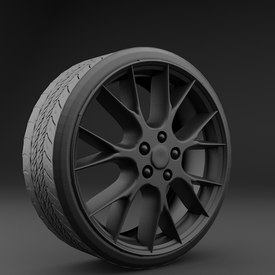 Dodge Challenger & Tesla Model s tires