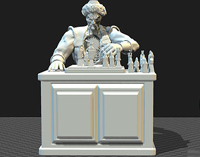 THE CHESS PLAYER AUTOMATON toy soldier 3D printable model