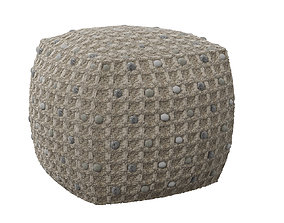 3D model Pouf Pebbles Nature Kare