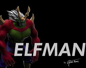 fairy tail elfman strauss anime 3d model