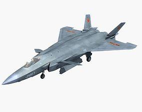 China Chengdu J-20 3D model