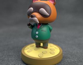 3D printable model Animal Crossing - old Tom Nook