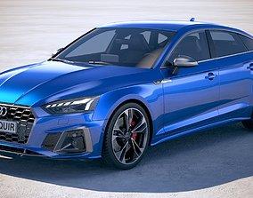 3D model Audi S5 Sportback 2020