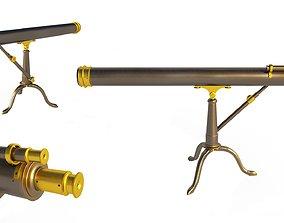 Telescope brass science 3D