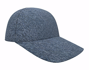game-ready Baseball Cap 3D Model