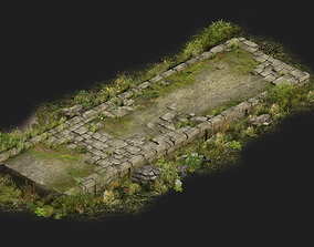 3D Game Model - Kashayana Buddha Forest Trail 1