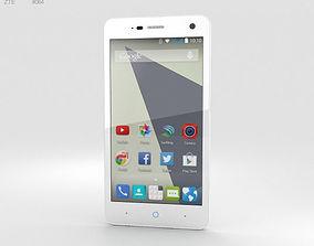 3D model ZTE Blade L3 White