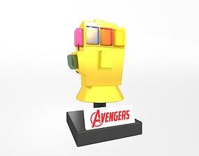 Lego Infinity Gauntlet v2 003 3D model