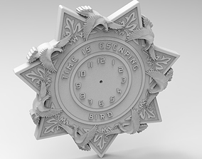 star clock 3D printable model