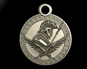 Ancient greek pendant 3D printable model