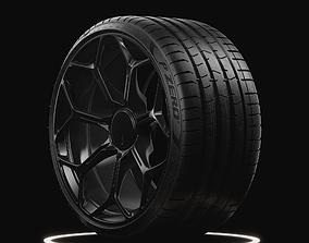 P ZERO PZ4 Pirelli Low Profile Real World Details 3D model