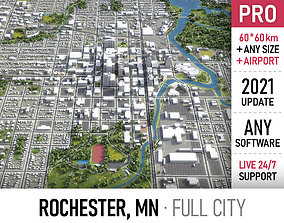 3D model Rochester - Minnesota